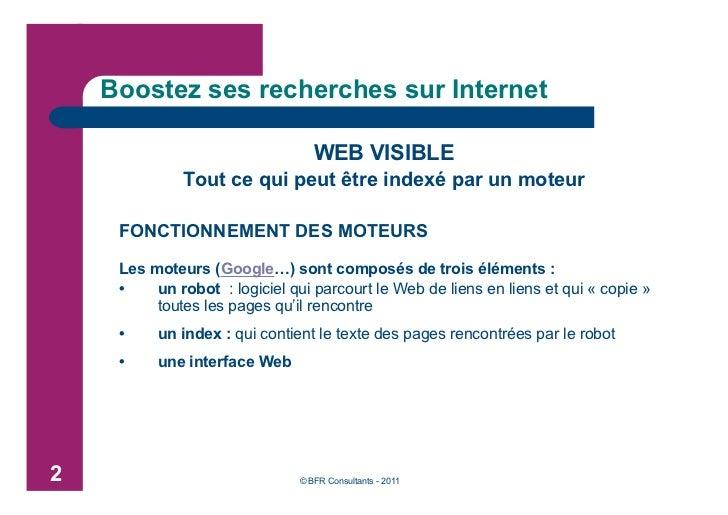 Boostez vos recherches sur Internet Slide 3