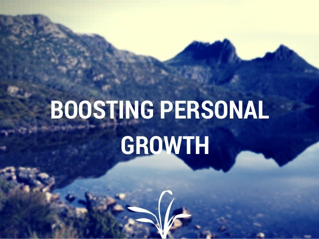 BOOSTING PERSONAL GROWTH