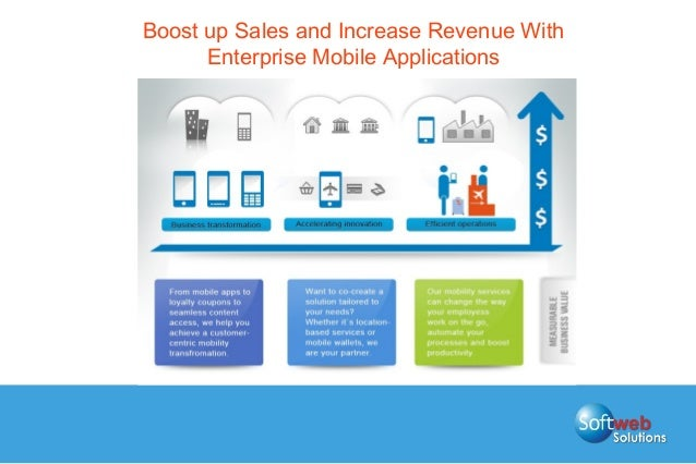Boost up Sales and Increase Revenue With Enterprise Mobile Applications