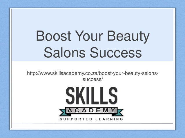Boost your beauty salons success for Salon success