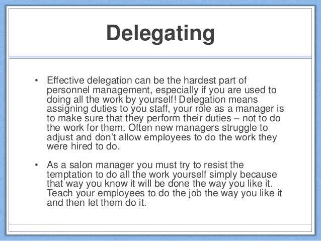 managers skepticism towards duty delegation Leadership is the ability to influence individuals or groups toward the achievement of goals allocation of undesirable duties or management and leadership.