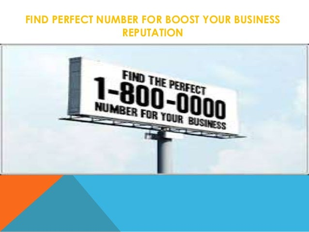 Boost Your Business With 1800 Vanity No