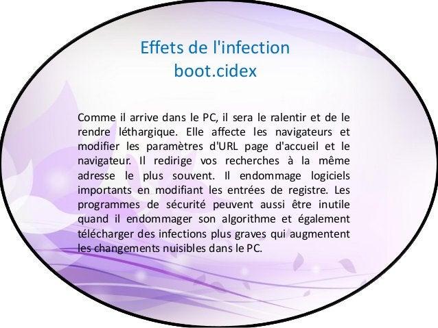 Comment ça se supprimé Sous l'examen des effets néfastes de l'infection boot.cidex, vous devez l'enlever dès que possible ...