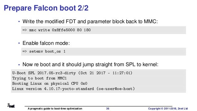 yocto improve boot time