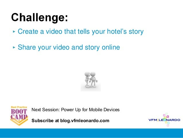 Best Practice Bootcamp, Session 5: Enhance Your Story Sharing
