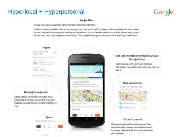 Hyperlocal + Hyperpersonal