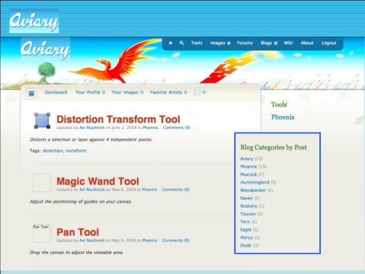Help: Tutorials <ul><li>http://a viary com/features/phoenix