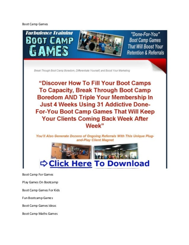 Boot Camp GamesBoot Camp For GamesPlay Games On BootcampBoot Camp Games For KidsFun Bootcamp GamesBoot Camp Games IdeasBoo...
