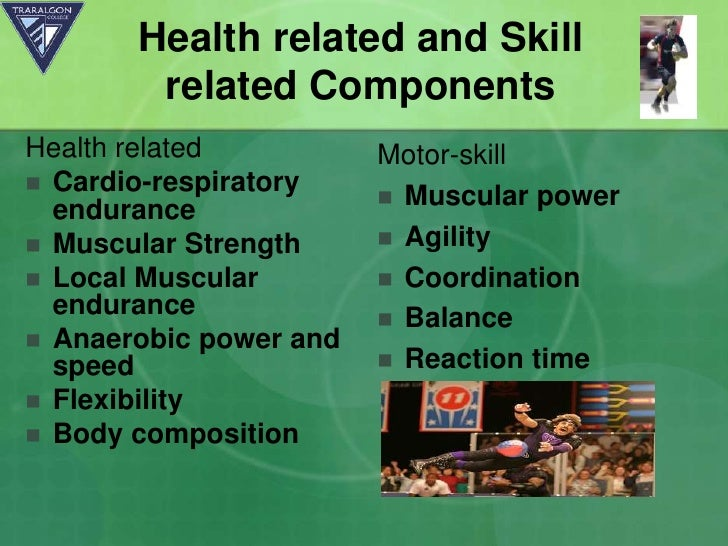 Boot camp fitness components