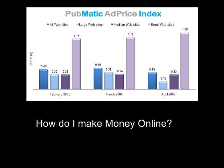 How do I make Money Online?