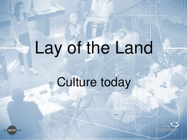 Prepare for 2016 culture blueprint lay of the land culture today 6 malvernweather Gallery