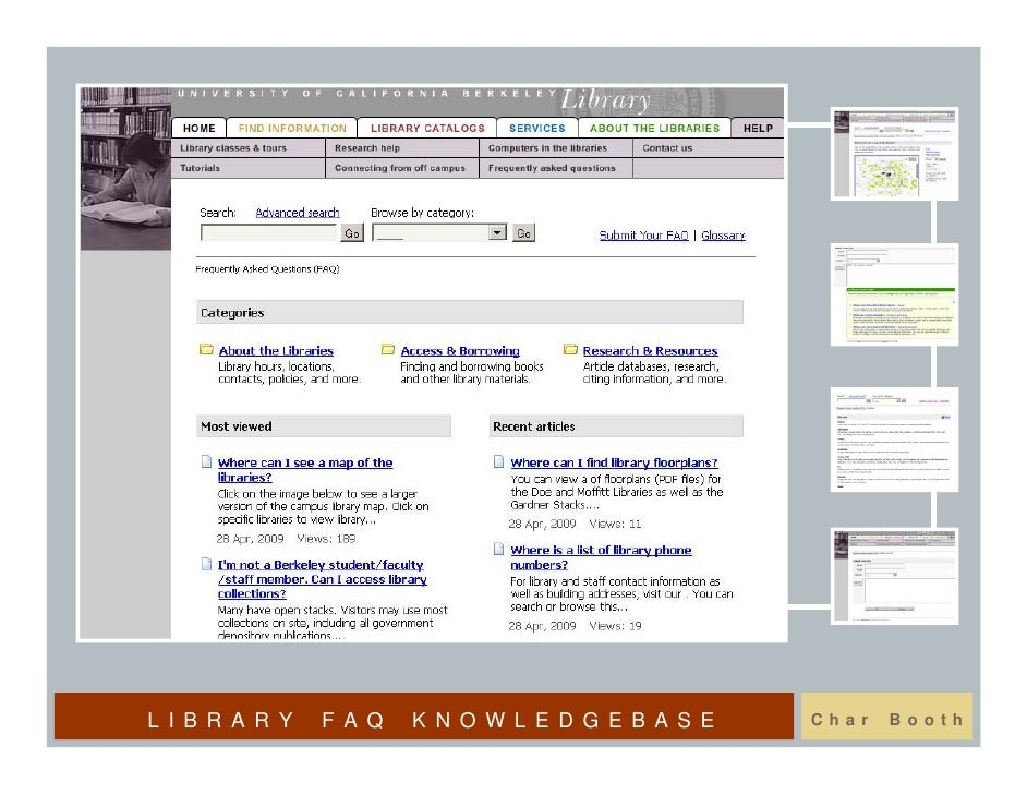 LIBRARY   FAQ   KNOWLEDGEBASE   Char   Booth