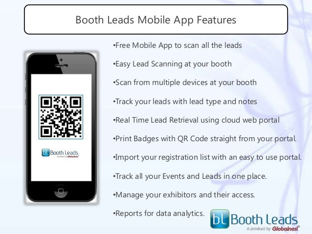 Boothleads, A mobile based lead retrieval application for your smart …