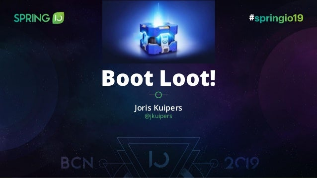 Joris Kuipers @jkuipers Boot Loot!