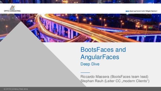 BootsFaces, AngularFaces und ein Blck unter die Motorhaube