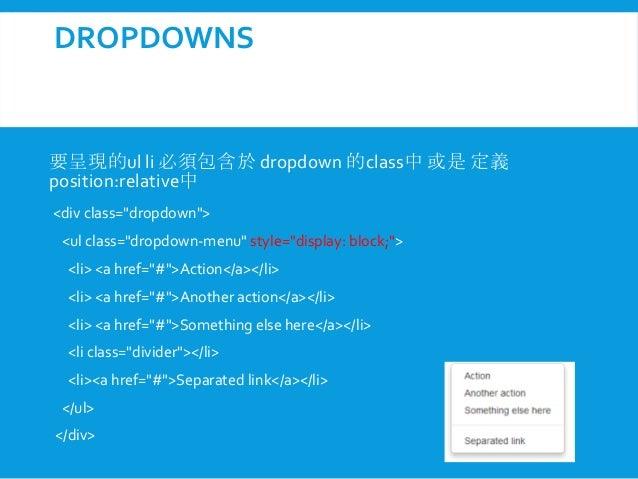 Bootstrap component - Bootstrap slider div ...