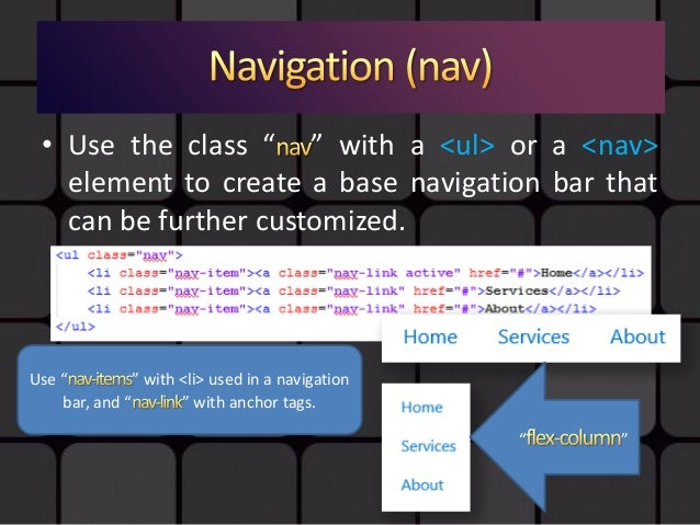 Web Development Lecture - Bootstrap ii