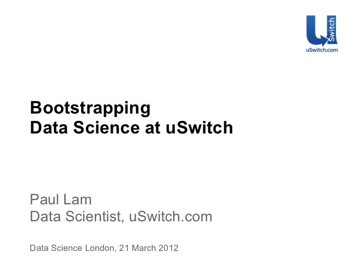 Bootstrapping Data Science