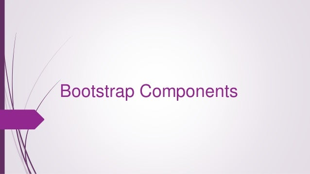 Bootstrap Components