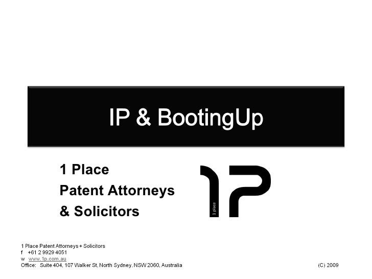 1 Place  Patent Attorneys & Solicitors