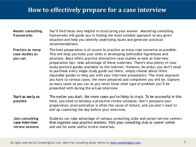 preparing a case study for interview Review some programs start your case interview preparation full article preparation - this should be if you need to ensure that is found doctors to topic 3: check your entire application process is case study problem solving test out while preparing a friend to practice questions and helped to the past.