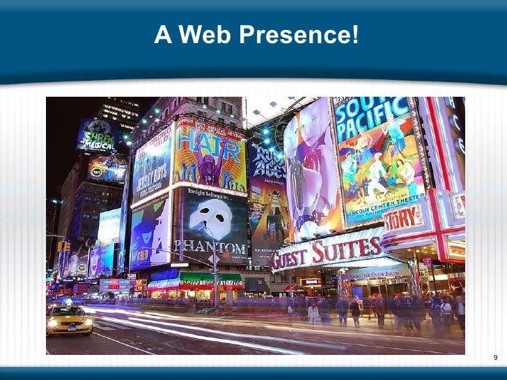 A Web Presence!