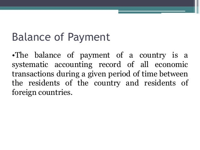 causes of balance of payment problems Board of governors of the federal reserve system international finance discussion papers balance-of-payments problems causes of banking and balance-of.