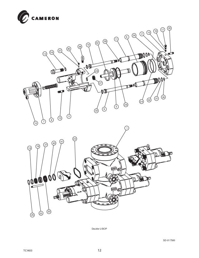 Bolt Diagram For Bop