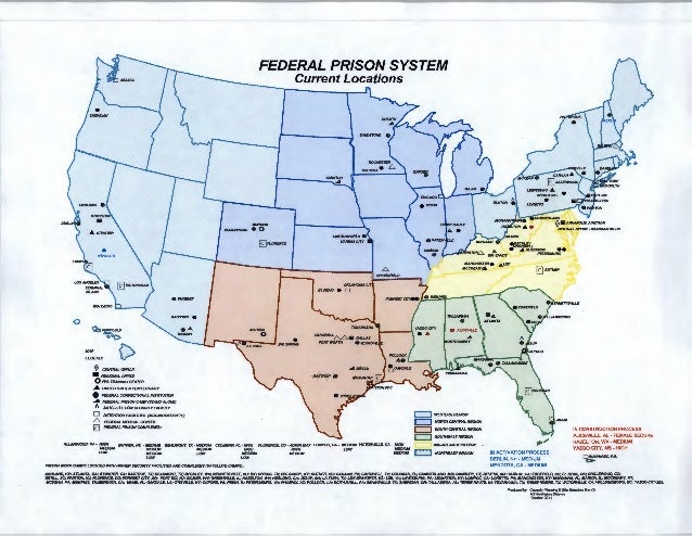 federal prison systemcurrent locations0 honoiiaplegend