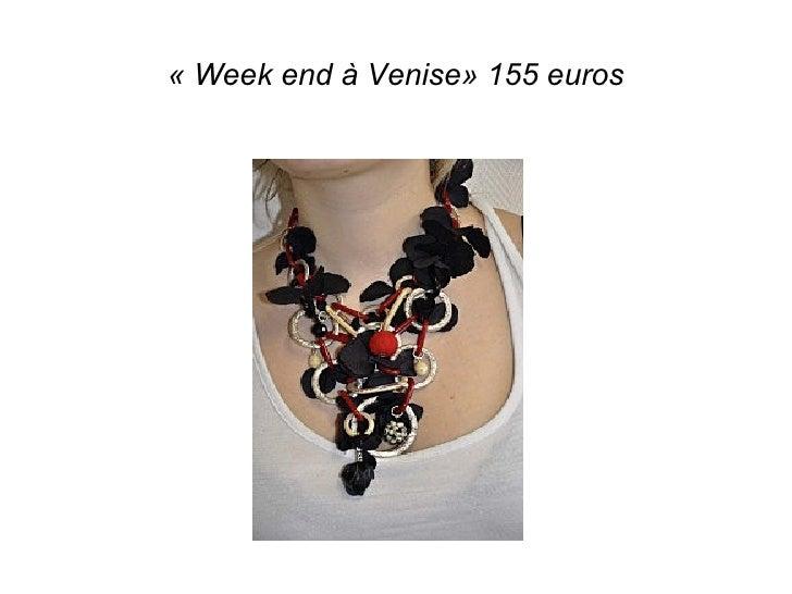 «Week end à Venise» 155 euros
