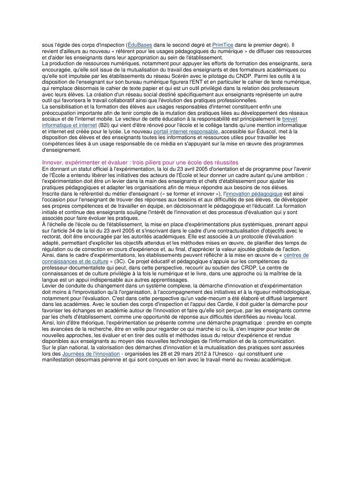 Bo priorites numrentree2012 Slide 3
