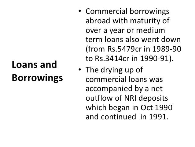 bop crisis 1991 bop crisis was one of the worst crises that india had to face the then  government was close to default, as rbi had refused new credit and.