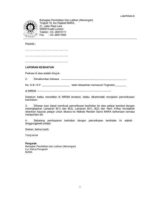 Contoh Surat Rasmi Pengesahan Pendapatan Bekerja Sendiri Gong Shim L