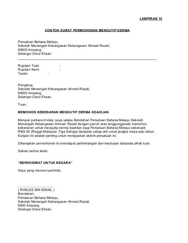 Contoh Surat Rasmi Notis Berhenti Kerja - Job Seeker