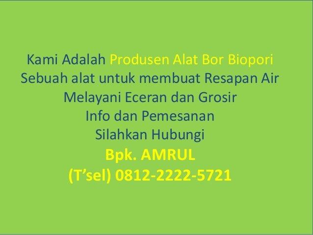 Image Result For Alat Biopori