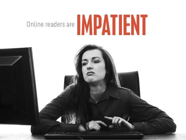 IMPATIENTOnline readers are