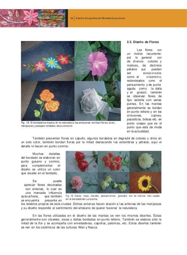 estudio etnografico del bordado ayacuchano