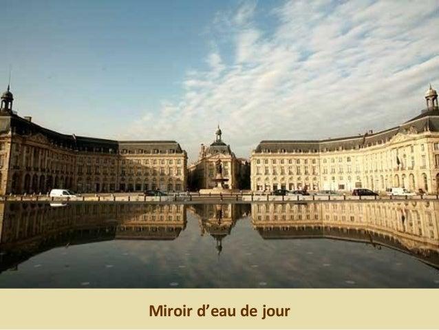 Miroir d'eau de jour