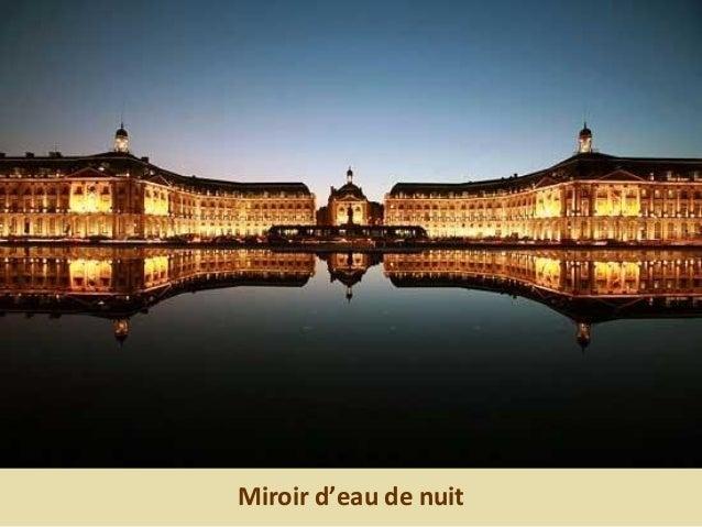 Miroir d'eau de nuit