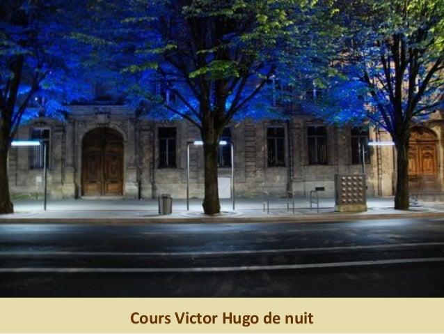 Cours Victor Hugo de nuit