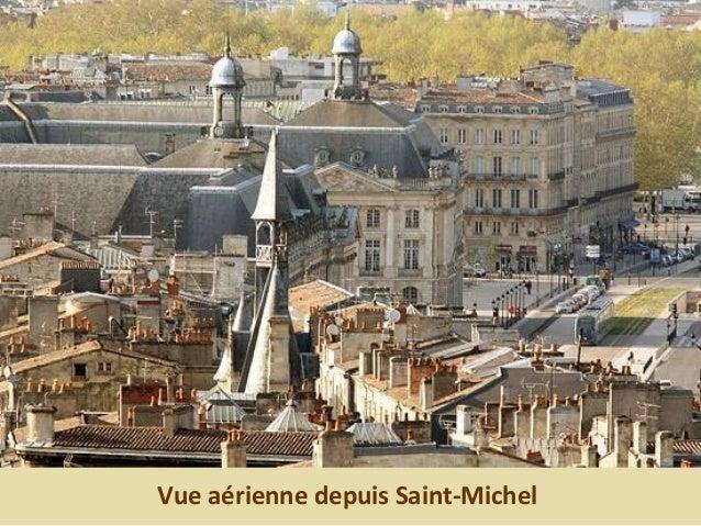 Vue aérienne depuis Saint-Michel