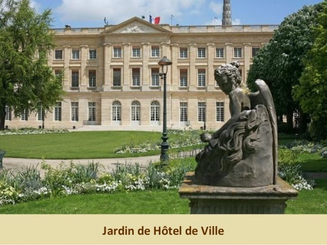 Jardin de Hôtel de Ville