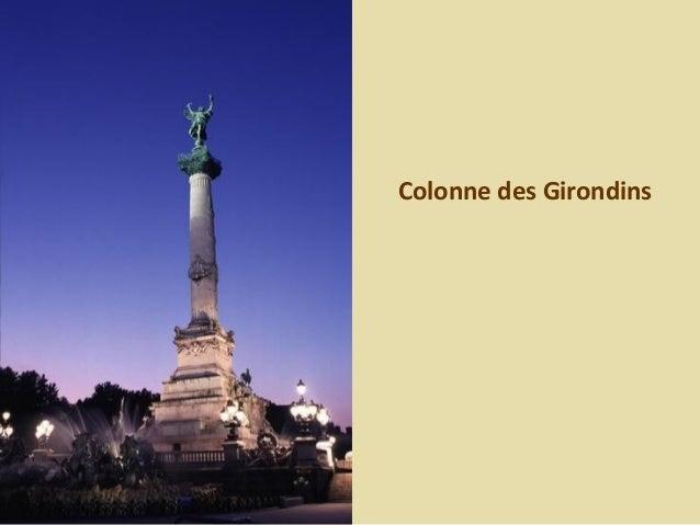 Statue du monument aux Girondins