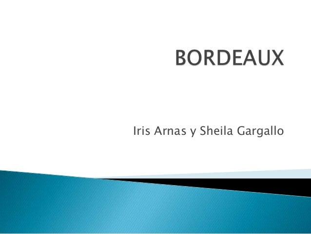Iris Arnas y Sheila Gargallo