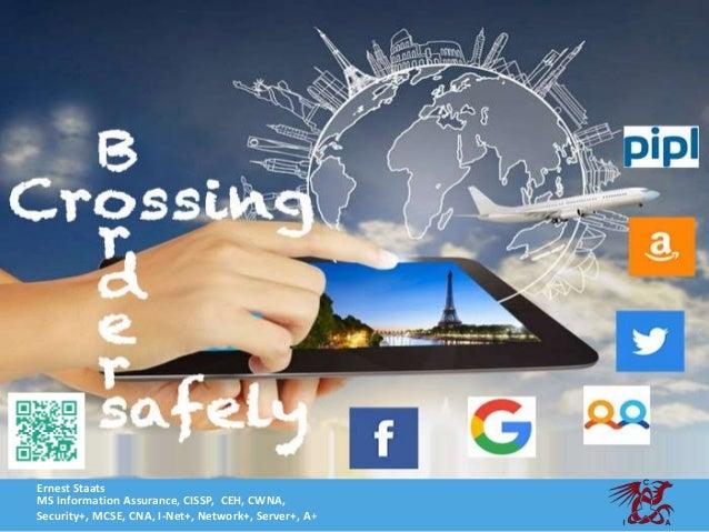Ernest Staats MS Information Assurance, CISSP, CEH, CWNA, Security+, MCSE, CNA, I-Net+, Network+, Server+, A+