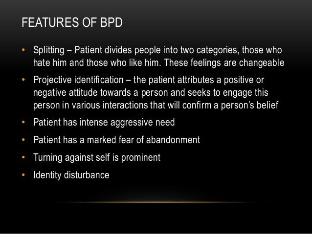 causes of borderline personality disorder pdf