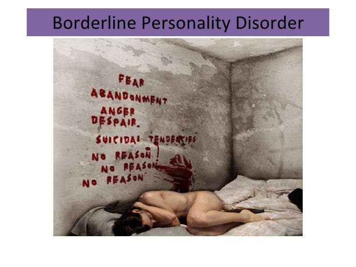 Dating a borderline personality disorder