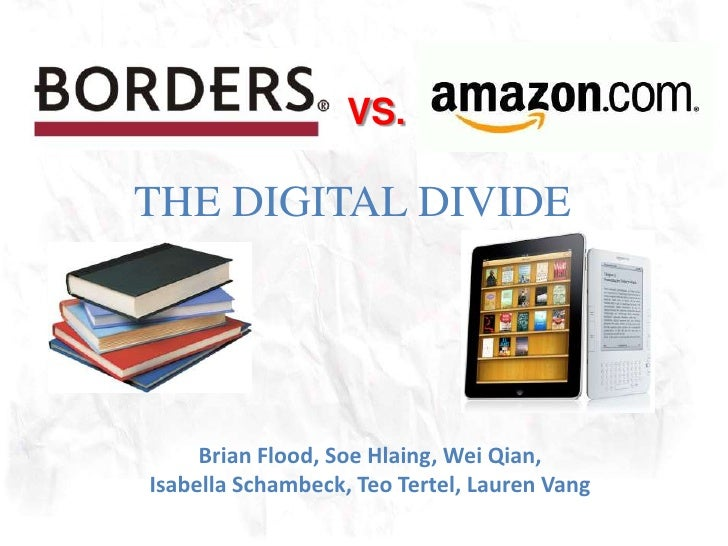 VS.<br />THE DIGITAL DIVIDE<br />Brian Flood, SoeHlaing, Wei Qian, Isabella Schambeck, Teo Tertel, Lauren Vang<br />