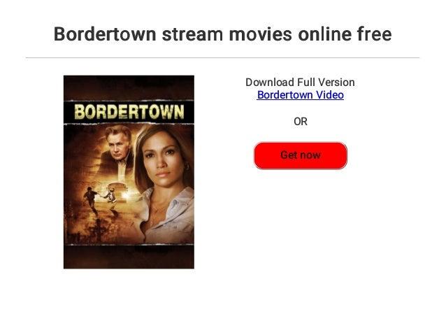 Bordertown Stream Deutsch