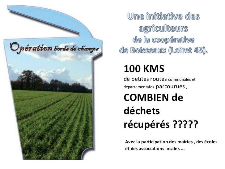Avec la participation des mairies , des écoles et des associations locales … 100 KMS  de petites routes  communales et dé...